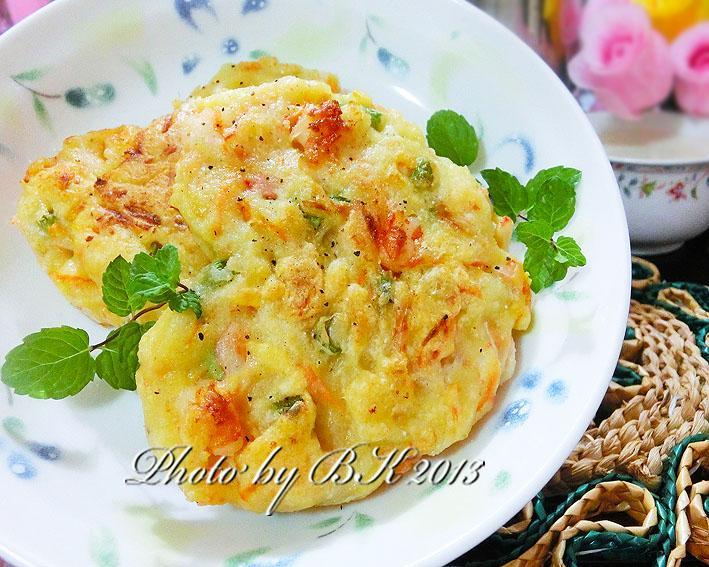 海味豆渣煎餅+鮮奶豆漿【九陽豆漿機】