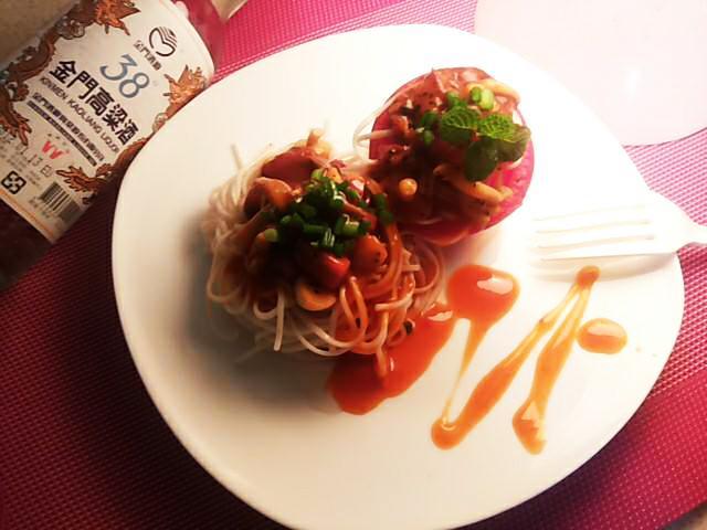 金門高粱飄香料理-茄汁義大利麵