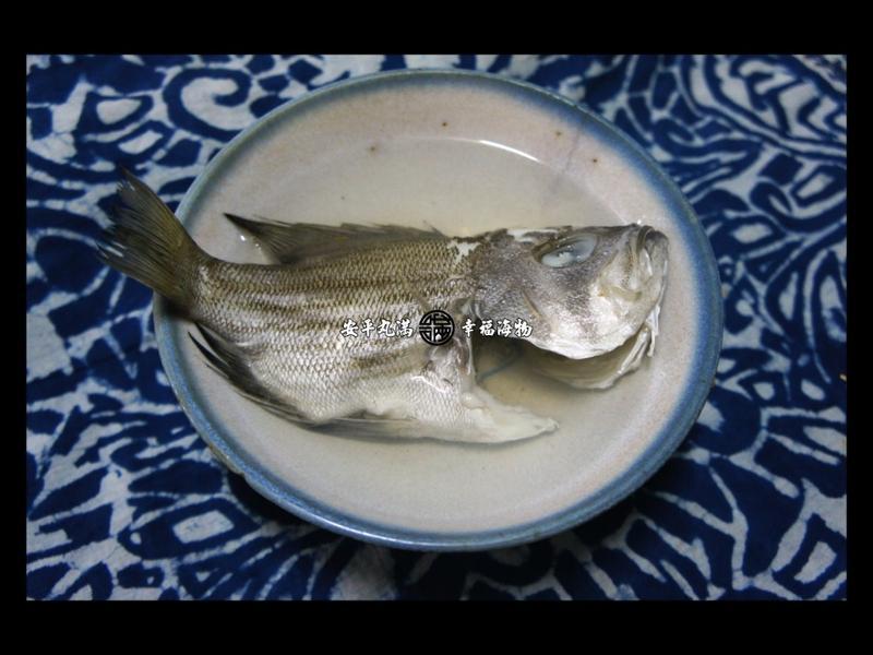 【幸福海物】黑大目仔(葉鯛)薑絲清湯