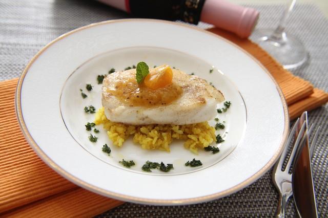 在家做高級料理~桔醬鱈魚咖哩飯