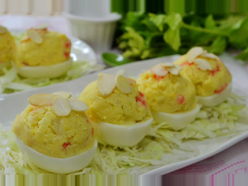 洋芋沙拉蛋盅