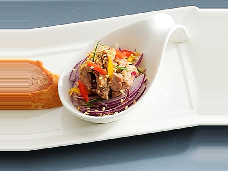 鱈魚肝前菜
