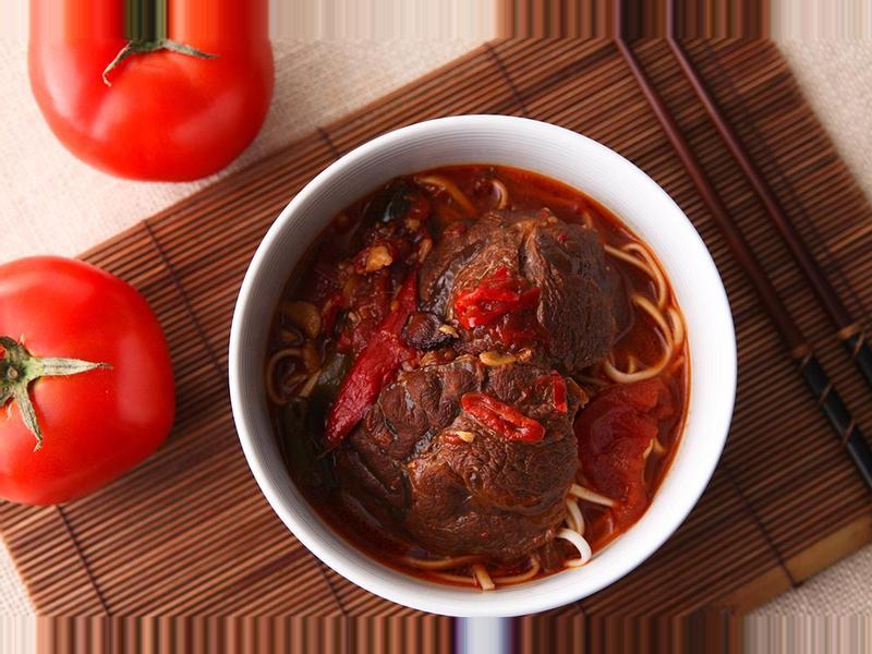 <湯瑪仕幸福食堂>紅燒番茄牛肉麵