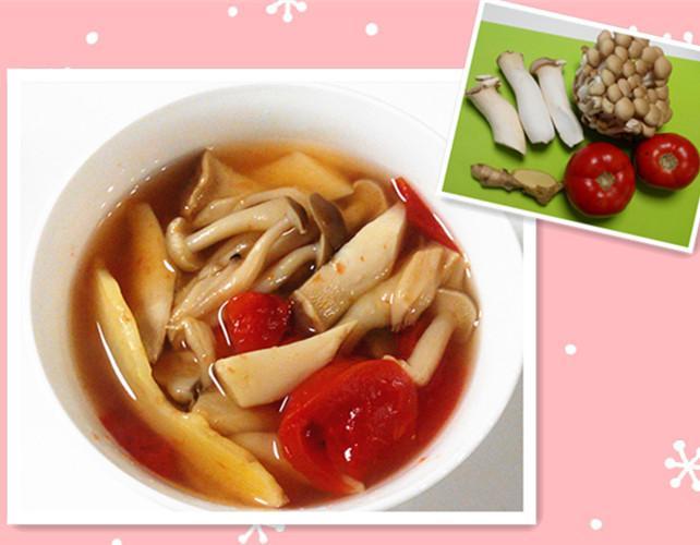 番茄美顏菇菇湯 (抗氧化美顏瘦身)