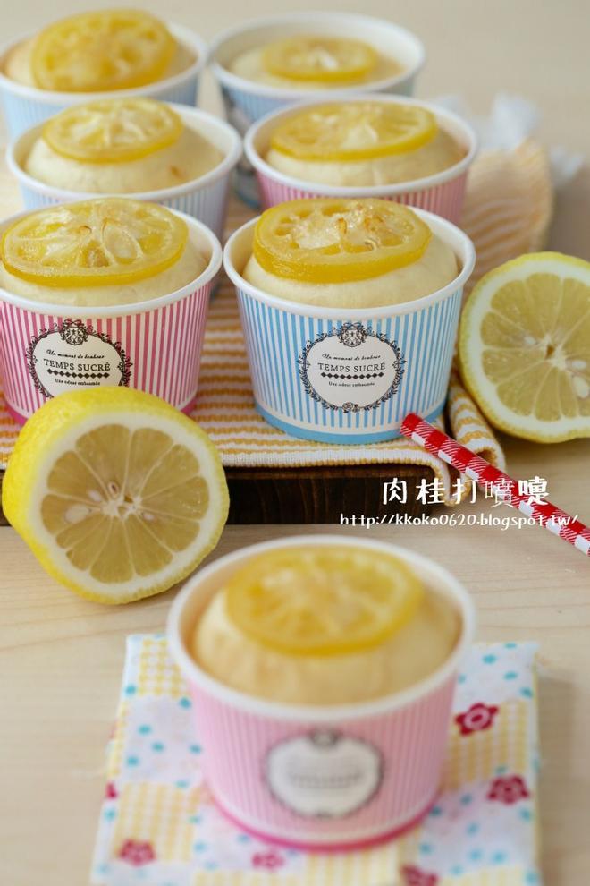 夏日的輕飲食*蜂蜜檸檬麵包杯【麥典麵包專用粉】1