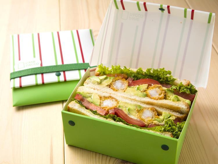 日本HO.H.新型態折疊式餐盒