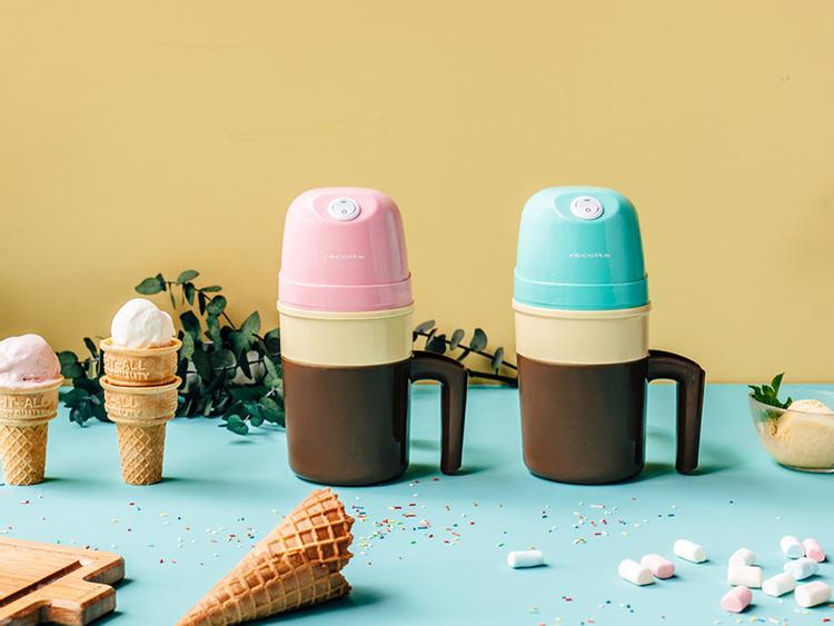 日本麗克特迷你冰淇淋機