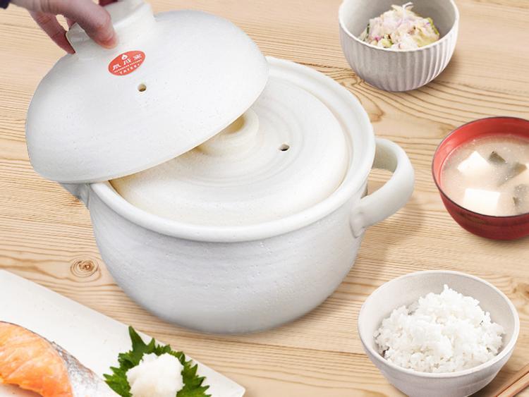 日本泰成窯萬古燒 炊飯土鍋