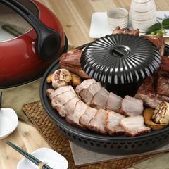 韓國油切健康烤肉鍋具組